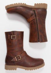 Zign - Cowboy/Biker boots - cognac - 1