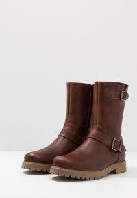 Zign - Cowboy/Biker boots - cognac - 2