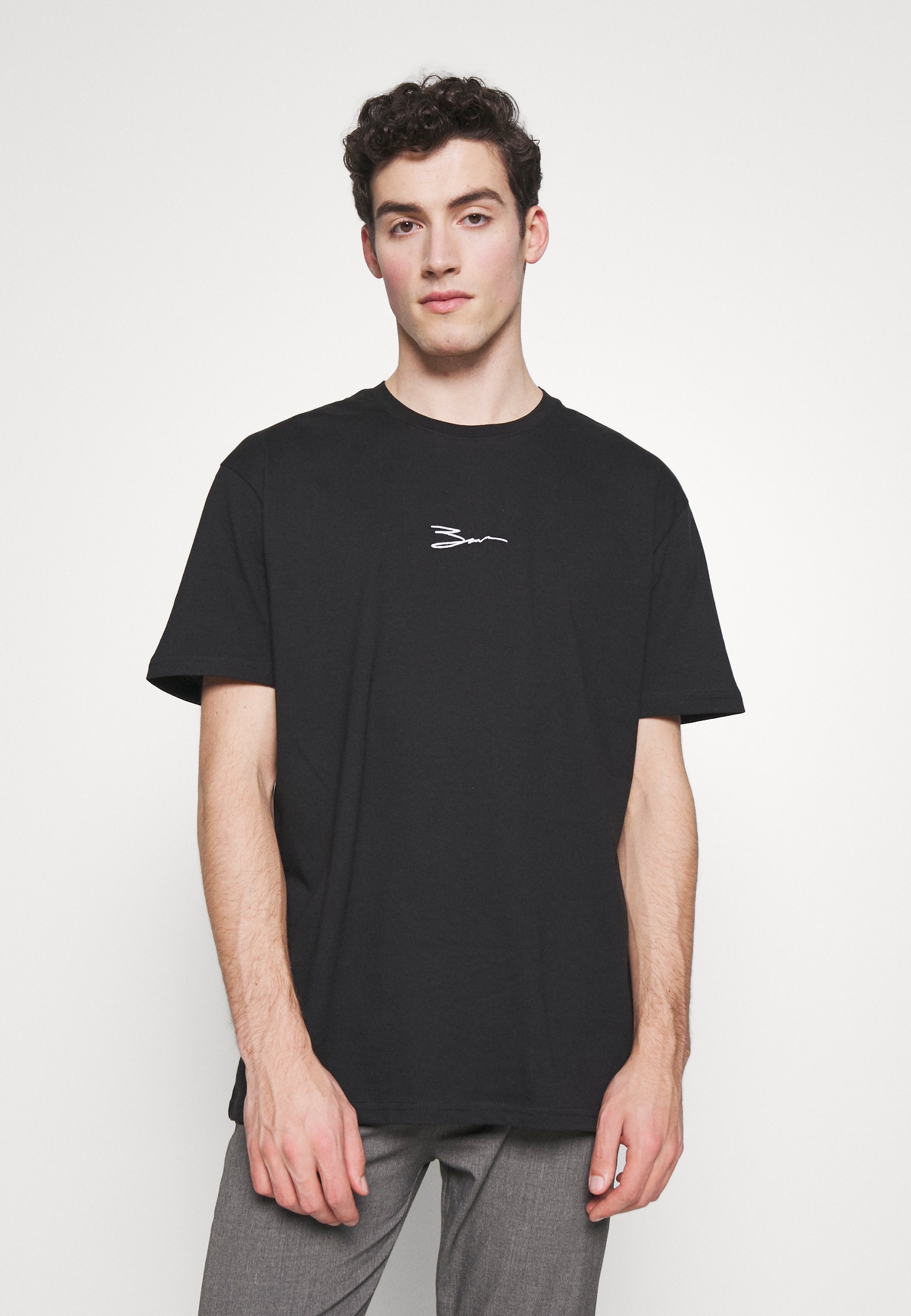 Zign T-shirt z nadrukiem - black