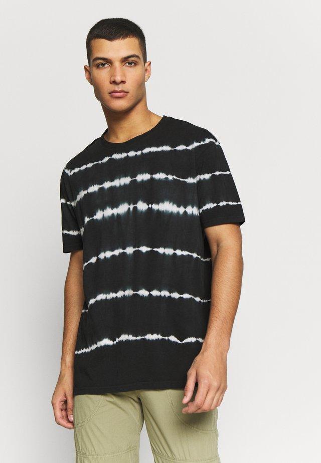 UNISEX TEE  - T-shirt z nadrukiem - black