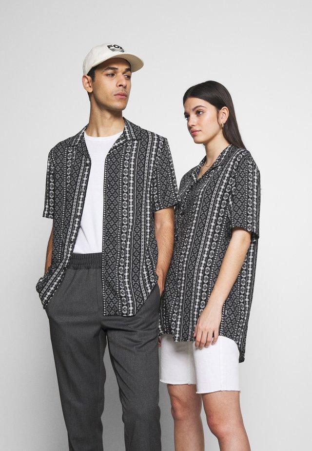 UNISEX - Overhemd - black