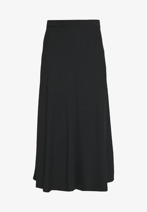 BIAS CUT SKIRT  - A-lijn rok - black
