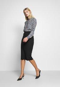 Zign - Pencil skirt - black - 1