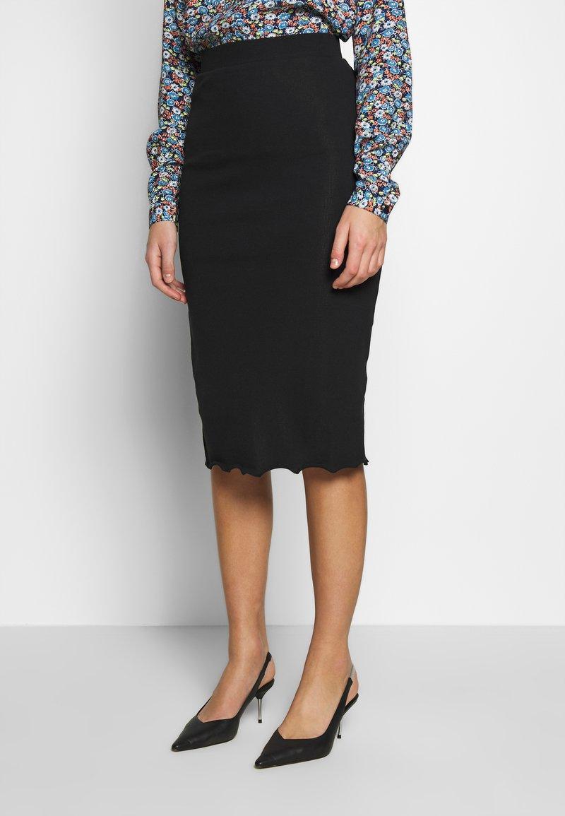 Zign - Pencil skirt - black