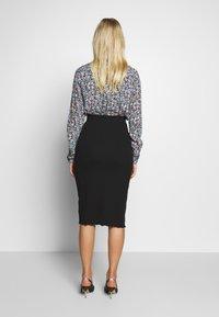 Zign - Pencil skirt - black - 2