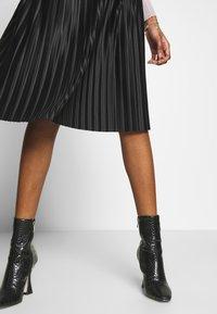Zign - A-line skirt - black - 4