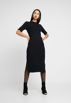 JERSEYKLEID BASIC - Shift dress - black