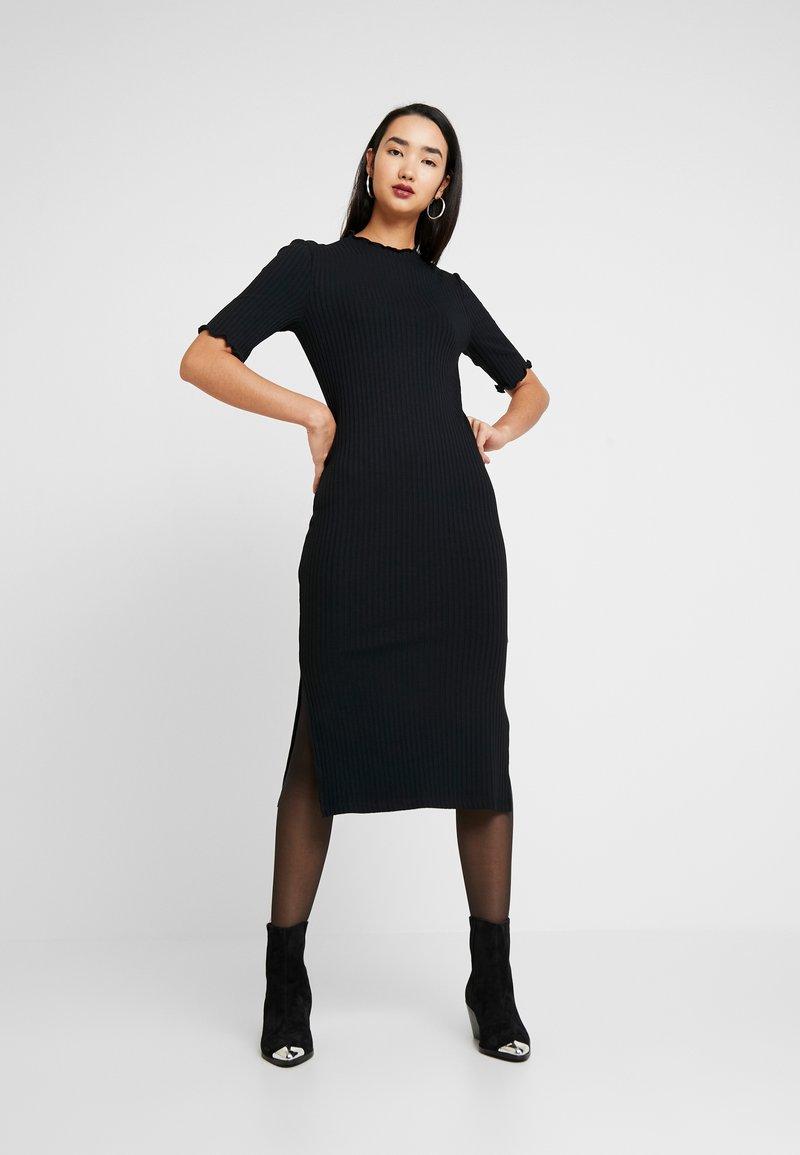 Zign - JERSEYKLEID BASIC - Shift dress - black