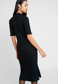 Zign - JERSEYKLEID BASIC - Shift dress - black - 3