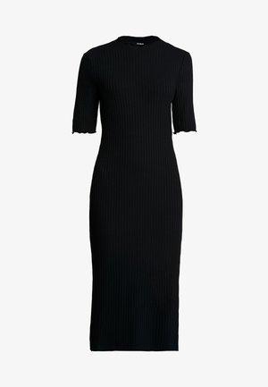 JERSEYKLEID BASIC - Robe fourreau - black