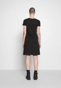 Zign - Žerzejové šaty - black - 2