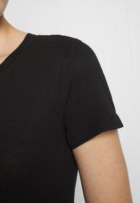 Zign - Žerzejové šaty - black - 5