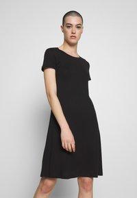 Zign - Žerzejové šaty - black - 0
