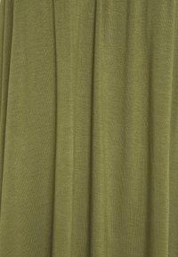 Zign - BASIC - MAXI DRESS - Jersey dress - olive night - 2