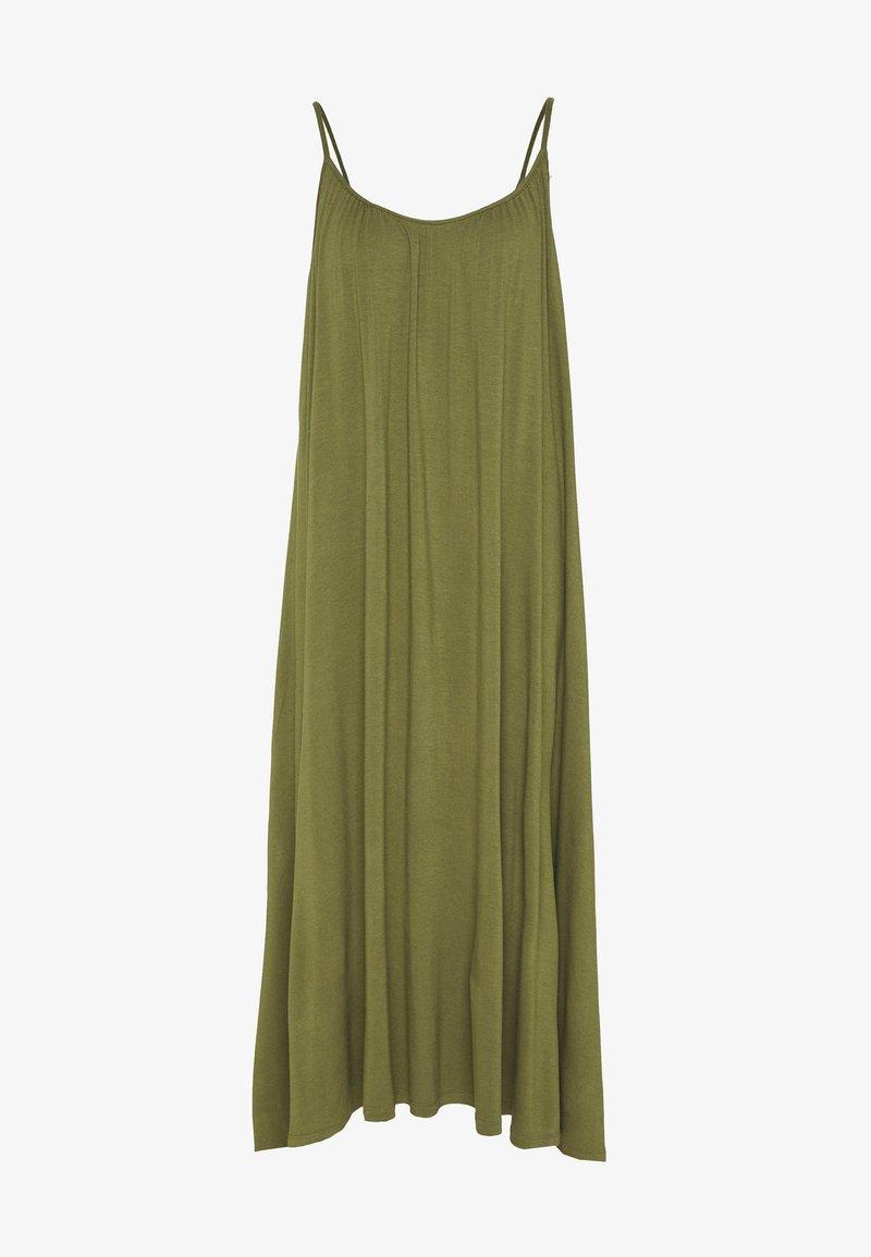 Zign - BASIC - MAXI DRESS - Jersey dress - olive night