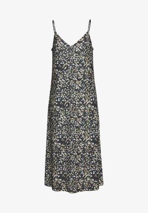 Žerzejové šaty - black/beige