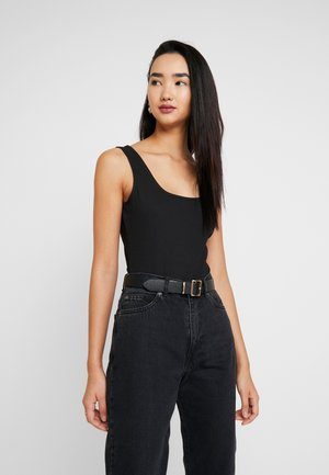 BODYSUIT BASIC - Topper - black