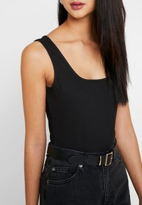 Zign - BODYSUIT BASIC - Top - black - 5