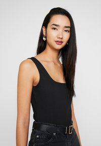 Zign - BODYSUIT BASIC - Top - black - 3