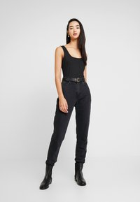 Zign - BODYSUIT BASIC - Top - black - 1