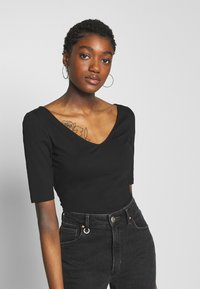 Zign - T-shirt basique - black - 0
