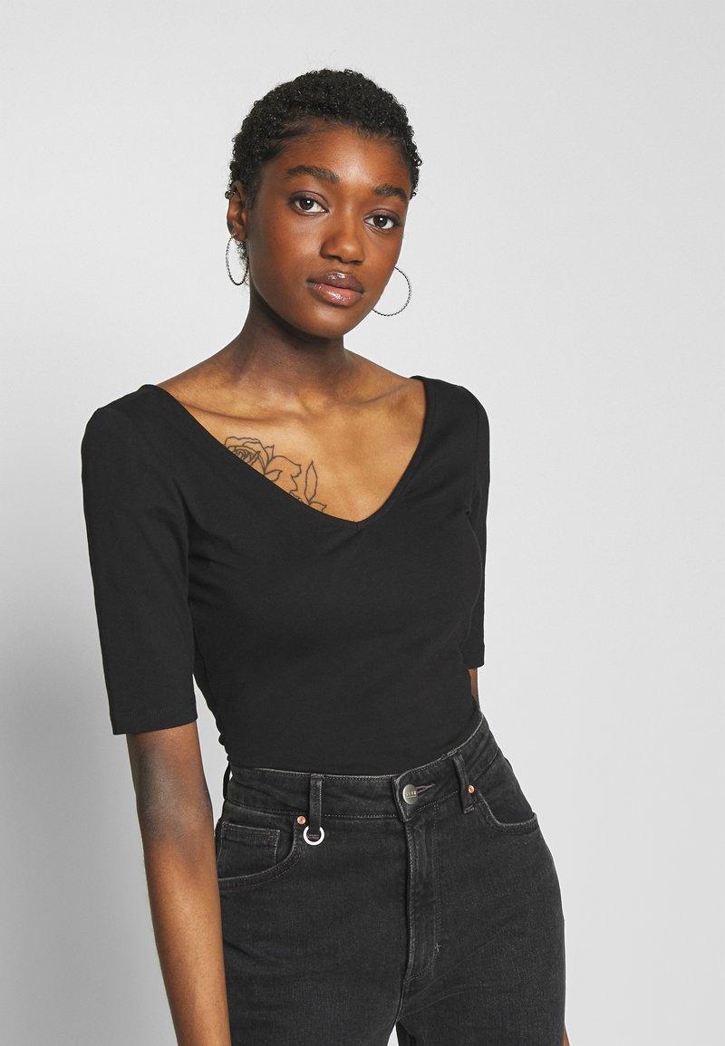 Zign - T-shirt basique - black