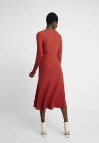 Zign - BASIC - Jersey dress - red - 3