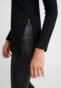 Zign - LANGARMSHIRT BASIC - Long sleeved top - black - 3