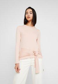 Zign - Long sleeved top - rose - 0