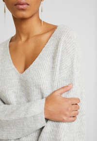 Zign - FLUFFY - Jumper - light grey melange - 6