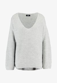 Zign - FLUFFY - Jumper - light grey melange - 5