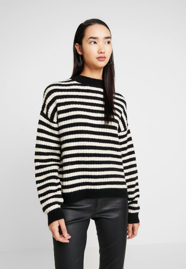 Jersey de punto - sand/black