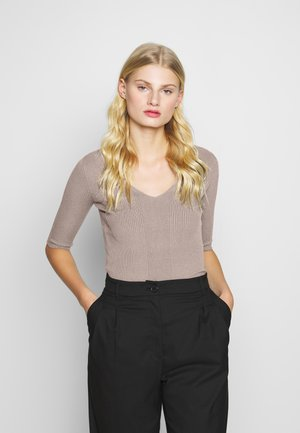 T-shirts - taupe