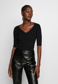 Zign - Basic T-shirt - black - 0