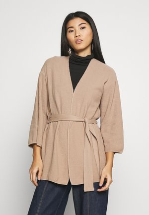 Vest - camel