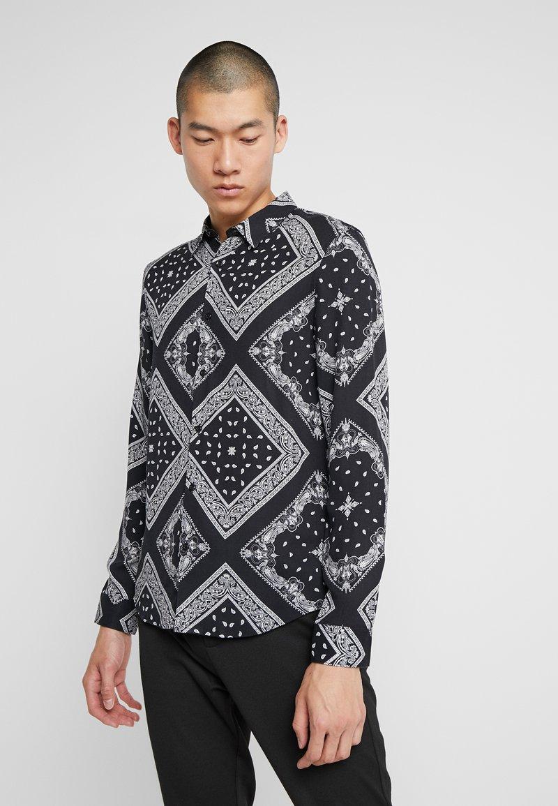 Zign - Shirt - white/black