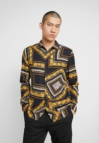 Zign - Overhemd - black/yellow - 0