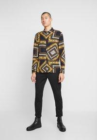 Zign - Overhemd - black/yellow - 1