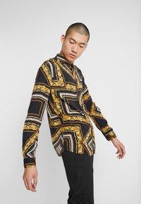 Zign - Overhemd - black/yellow - 3