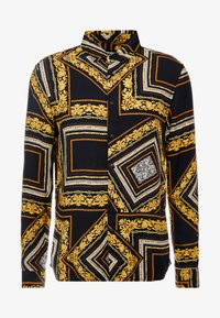 Zign - Overhemd - black/yellow - 6