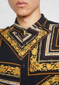 Zign - Shirt - black/yellow - 7