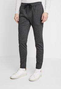Zign - Kalhoty - mottled dark grey - 0
