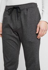 Zign - Kalhoty - mottled dark grey - 4