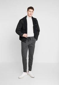 Zign - Kalhoty - mottled dark grey - 1