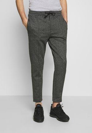 Pintuck Pleat - Pantalon de survêtement - dark gray