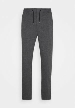 Pintuck Pleat - Teplákové kalhoty - mottled grey