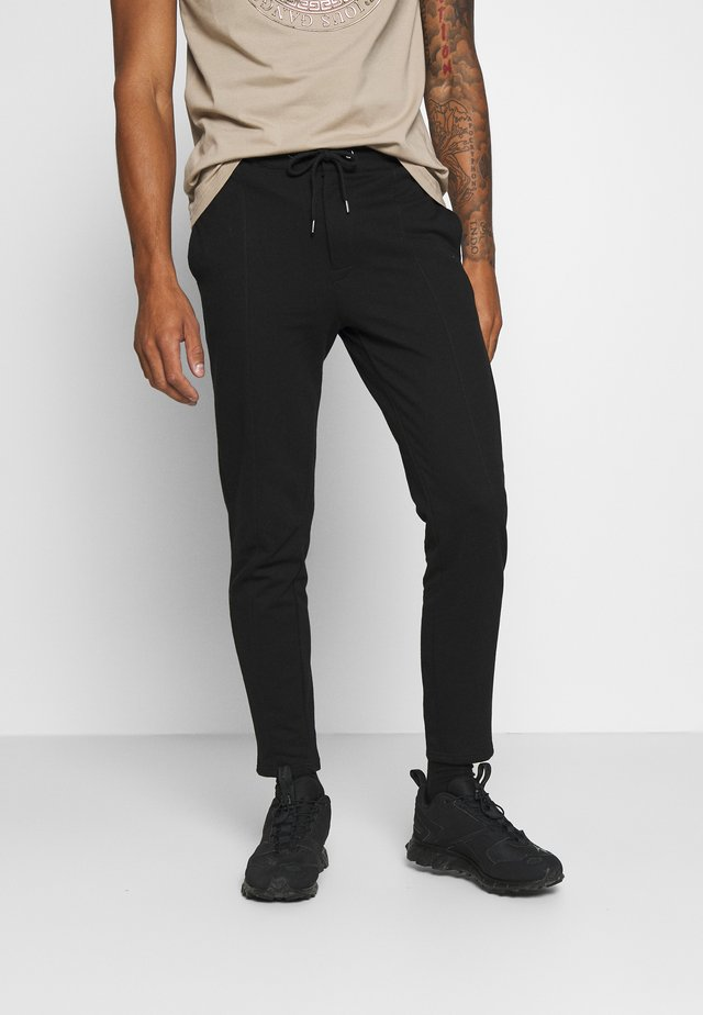Pintuck Pleat - Joggebukse - black