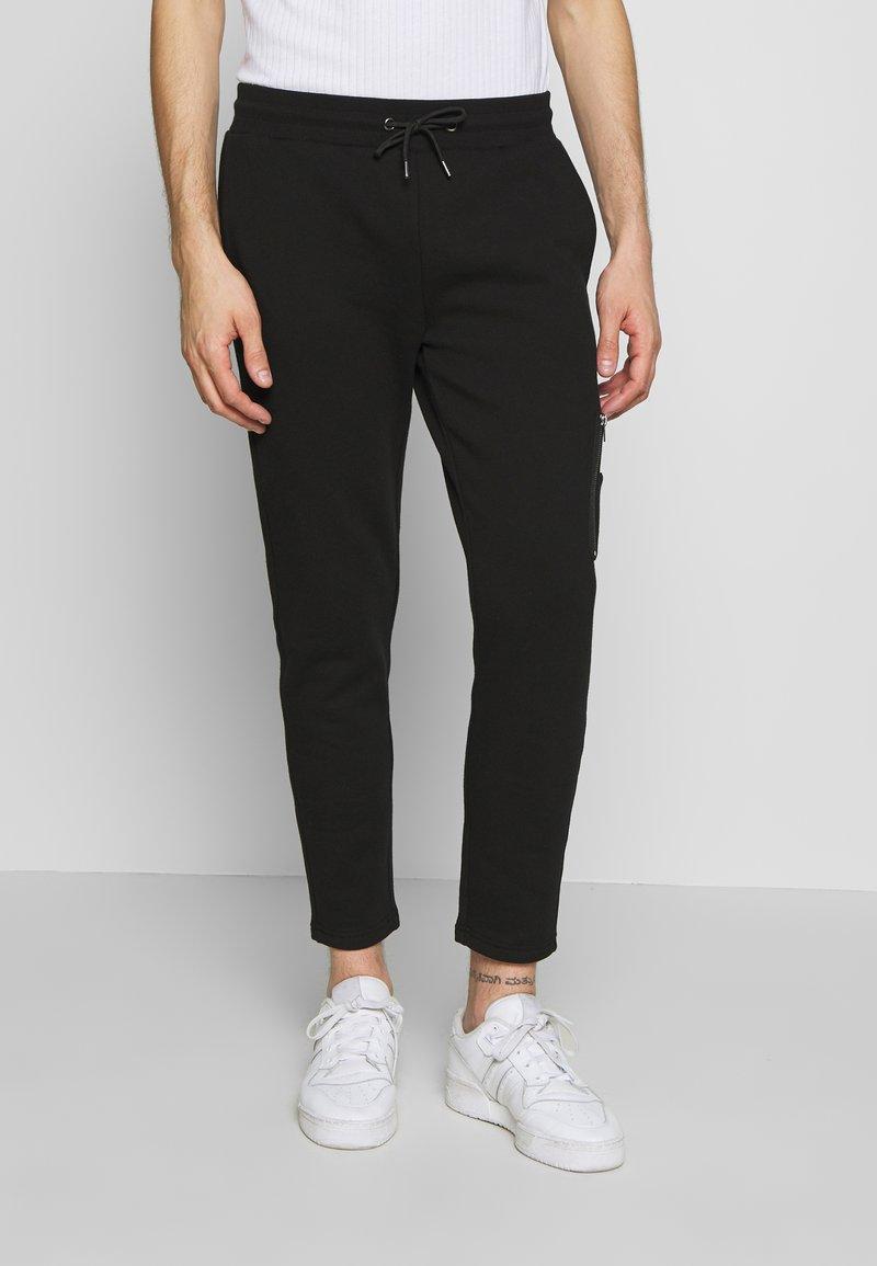Zign - JOGGER - Teplákové kalhoty - black