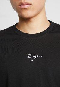 Zign - T-shirt print - black - 5