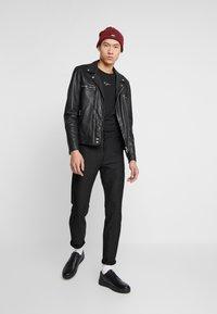 Zign - Long sleeved top - black - 1